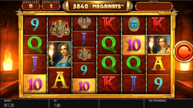 Legacy of Ra Megaways Slot Review – Latest Megaways Slots – Play it for Free