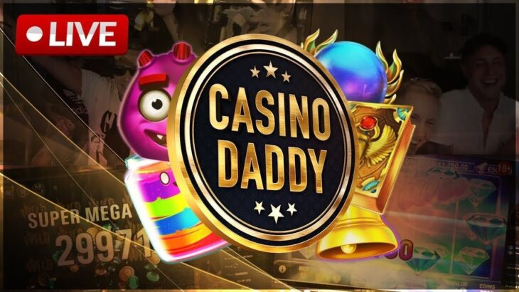 💸 REAL MONEY SLOTS LIVE STREAM BY CASINO DADDY 💸!PRAISE & !BLU FOR 150% EXCL. | !NOSTICKY
