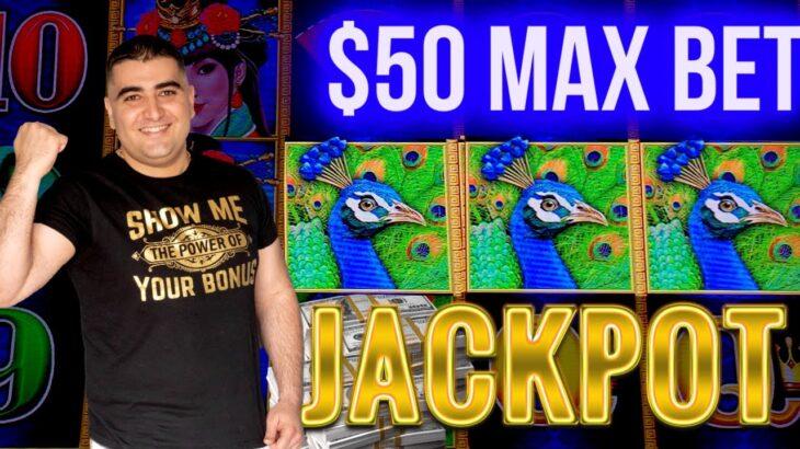$50 Max Bet HANDPAY JACKPOT On Dragon Link Slot | Las Vegas Casino JACKPOT | SE-2 | EP-27