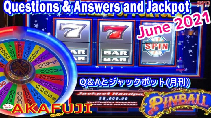 [June 2021] Questions & Answers and Jackpot🏆 San Manuel Casino & Barona 6月の視聴者のQ&Aとジャックポット集 赤富士スロット