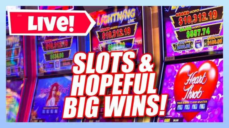 🔴 LIVE CASINO SLOT PLAY ★ LET'S CHECK OUT THE NEW SLOTS AT THE CASINO