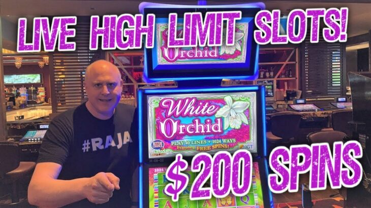 🔴 The Most Amazing Live Slot Play Ever! 🎉 Huge High Limit Slot Play – Up to $200 Bets!