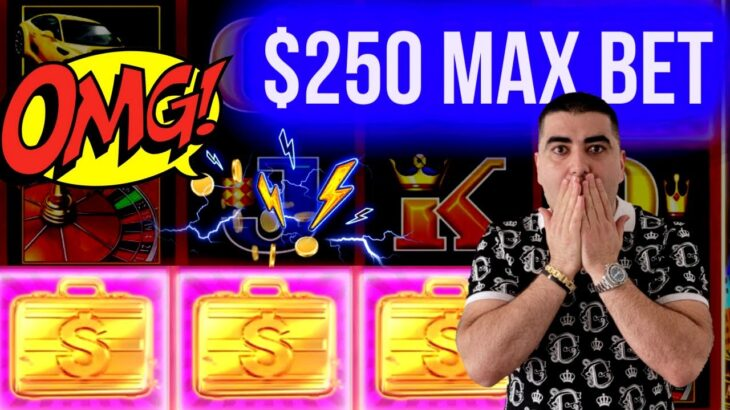 $250 A Spin On LIGHTNING LINK Slot ⚡   Live Slot Play At Casino