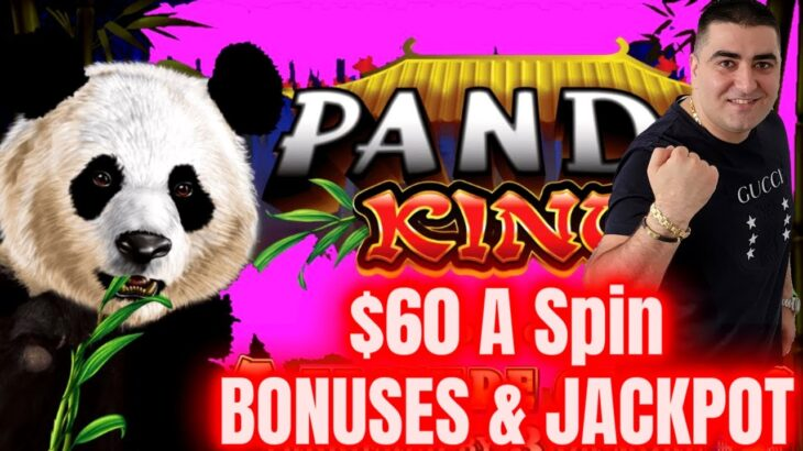$60 A Spin Bonuses & JACKPOT On High Limit Slot | Winning In Las Vegas Casinos