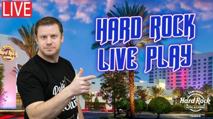 🌴 Casino Slot Play in Sunny Florida ☀️ Live from The Seminole Hard Rock Tampa