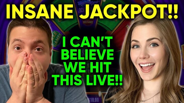 GIGANTIC JACKPOT HANDPAY On The NEW Conan The Barbarian Game! LIVE: Slots!!