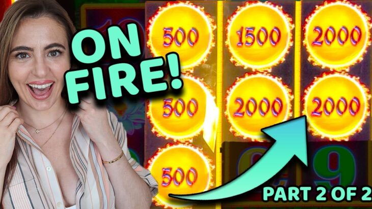 LADY LUCK FOUND the HOTTEST MACHINE in the CASINO & WON 2 JACKPOT HANDPAYS
