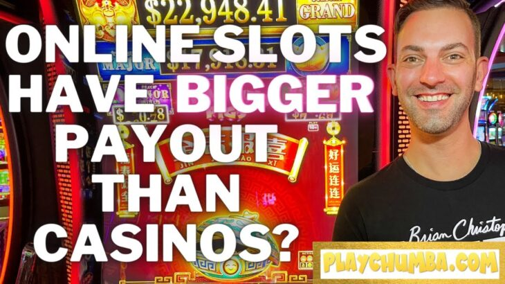 🔴 Online Slots have BIGGER Payout than Casinos?