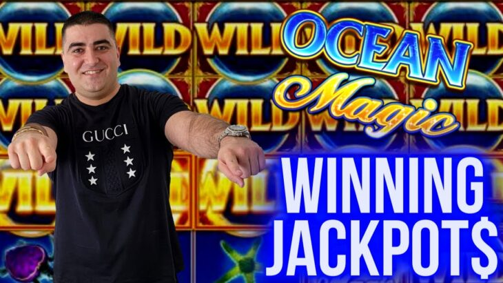 Winning JACKPOTS On High Limit Slots   Las Vegas Casinos JACKPOTS