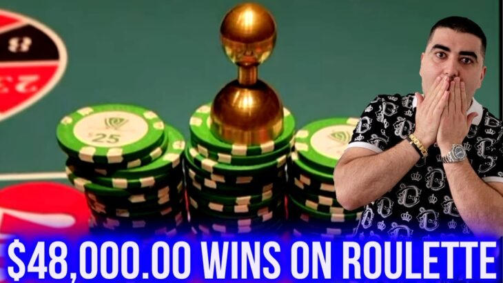 $48,000 Wins On Roulette | High Limit Live Slot Play w/ HUGE BETS ! SE-4 | EP-14