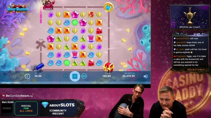 💸 CASINODADDY LIVE STREAM 💸 ABOUTSLOTS.COM – FOR THE BEST BONUSES AND OUR COMMUNITY FORUM