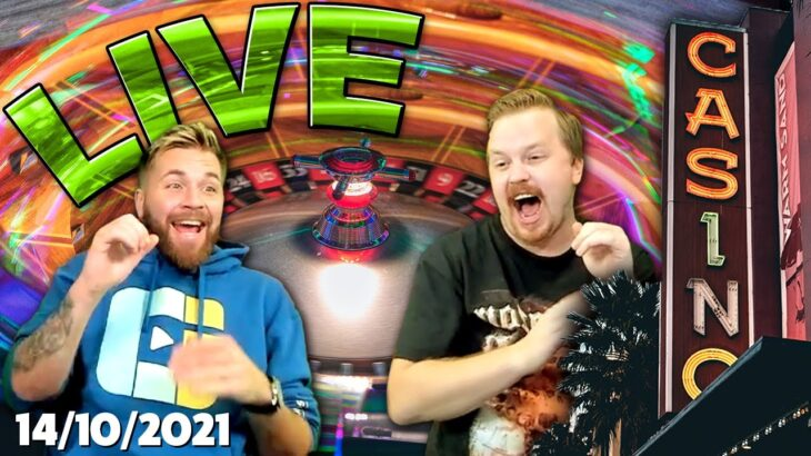 LIVE FROM DRAGONARA CASINO, BLACKJACK AND ROULETTE – !Rapid and !Crazy Time !Giveaway up  (14/10/21)