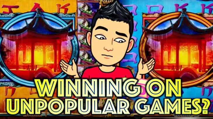 WINNING ON UNPOPULAR GAMES AT THE CASINO? 🎰 LET'S SEE! Slot Machine